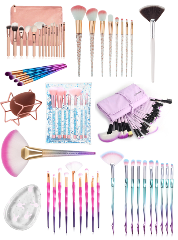 Makeup Brush Bargains (£10 & Under)