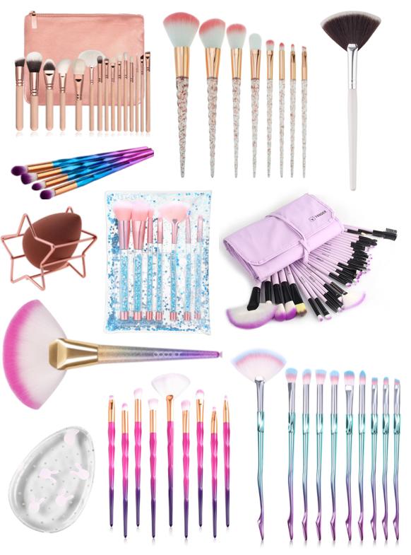 Makeup Brush Bargains (£10 & Under)