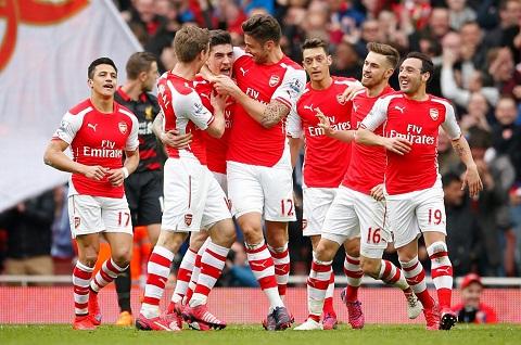 Hàng tiền vệ của Arsenal
