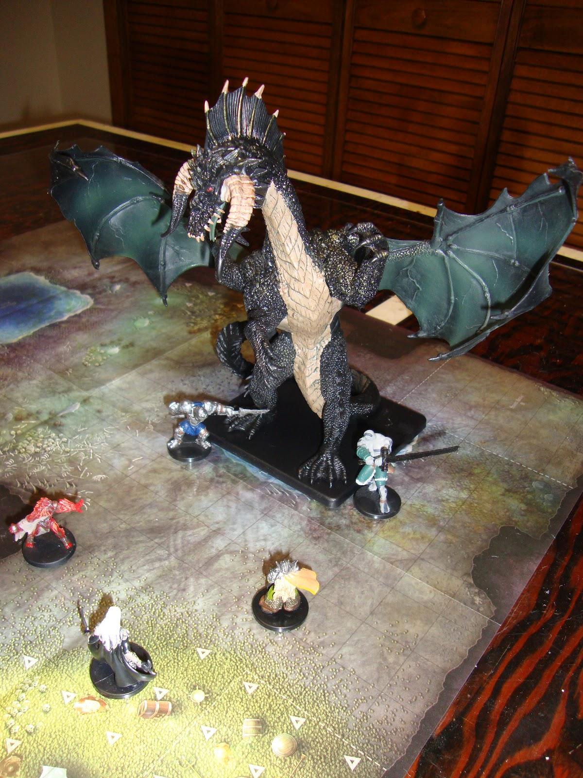 Unboxing Gargantuan Black Dragon