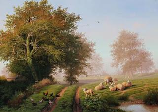 cuadros-con-paisajes-rurales-realistas-lienzos pinturas-panoramas-rurales