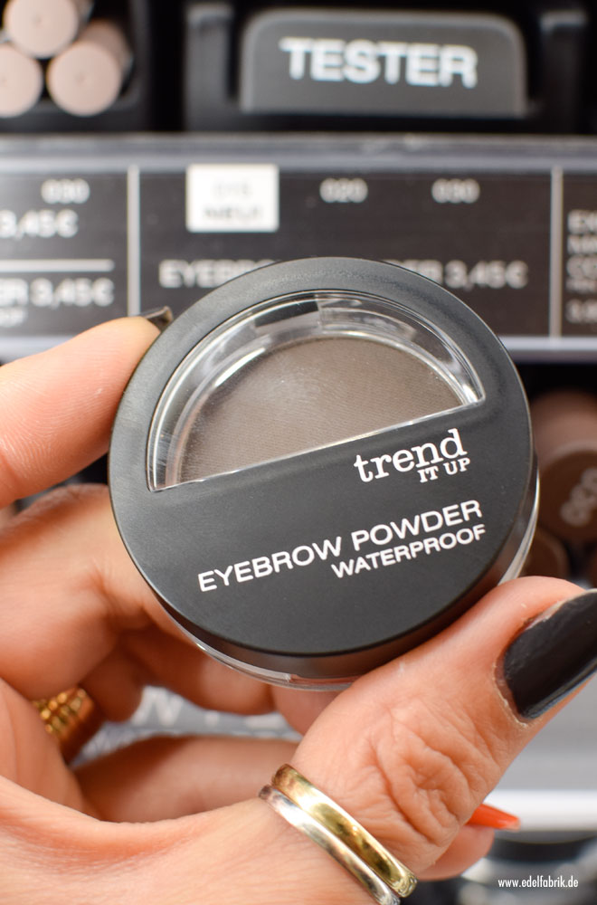 trend IT UP Eyebrow Powder, neues Sortiment 2017