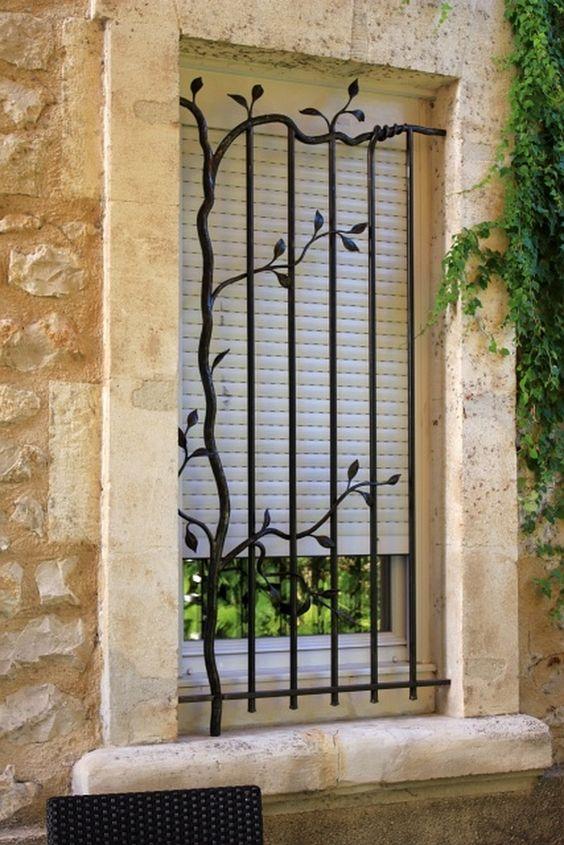 25 Amazing Iron Window Grill Designs - Decor Units