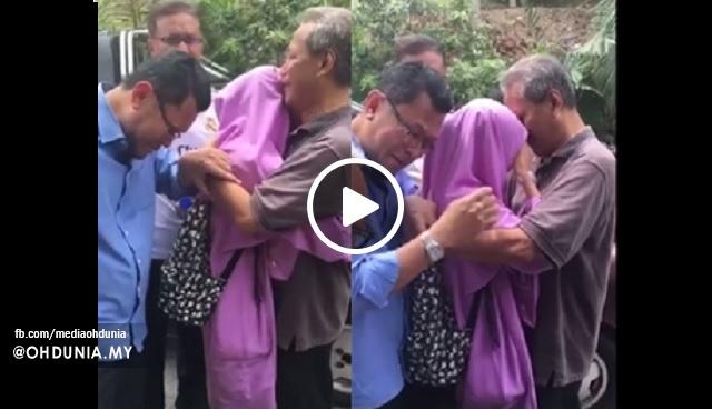 Video: Saat Mengharukan Adik Nur Darleen Dazeera Azhar Telah Ditemui