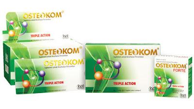Harga Osteokom Obat Osteoarthritis Teruji di Apotik