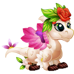 Appearance of Spring Dragon when baby