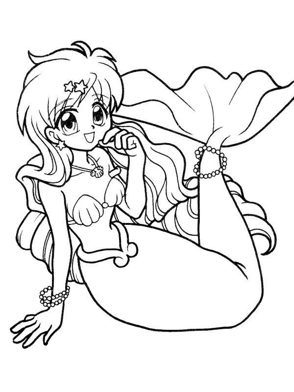 Mewarnai Putri Duyung 3