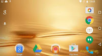 rotating home screen at android 'M' Marshmallow