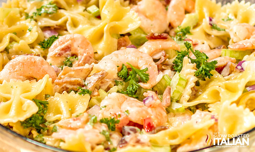 Bacon Shrimp Pasta Salad