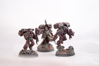 Raptor Ashen circle unit for my word bearers chaos space marine army