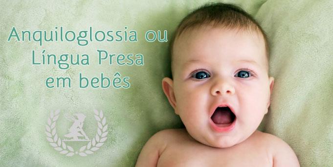 Anquiloglossia ou língua presa em bebês