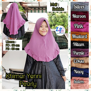 khimar yenni bubble pet mutiara