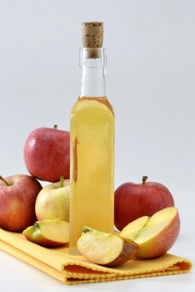 Vinagre de manzana te ayuda a bajar de peso