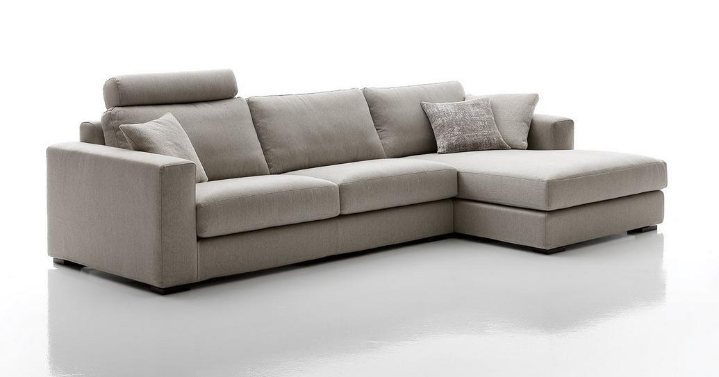 Divani e divani letto su misura divano moderno central - Copridivano chaise longue su misura ...