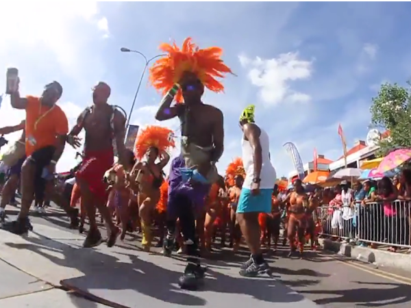 St.Lucian Carnival Monday 2013 VIDEO