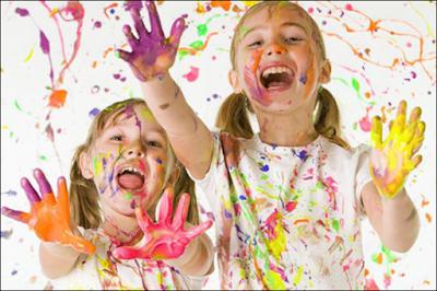 Cómo hacer materiales artísticos para niños