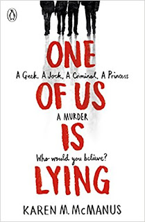 ONE OF US IS LYING - BOOK COVER