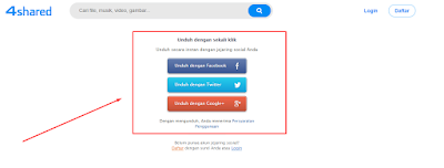 Cara Mudah Download Gratis mp3 dan video di 4shared