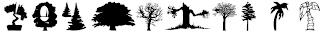 Download font Nature (alam) keren 8
