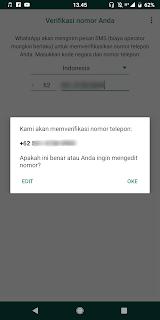 Cara Mengatasi Verifikasi Whatsapp Error
