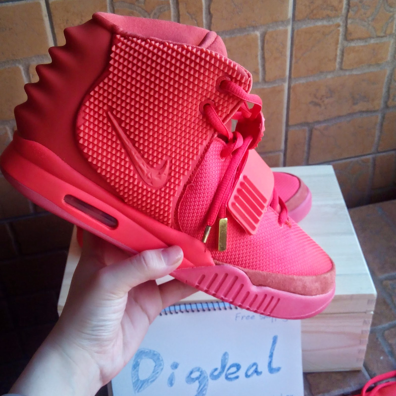 9d614af9870617 Hotly Nike Jordan Shoes Shop  Super Perfect Nike Air Yeezy 2 Red ...