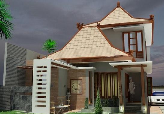Gambar Rumah Modis Update Contoh Desain Rumah Joglo