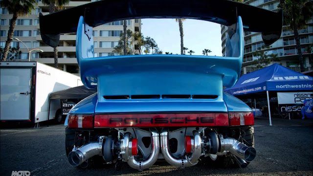 Incrível carro de luxo Porsche modificado foto