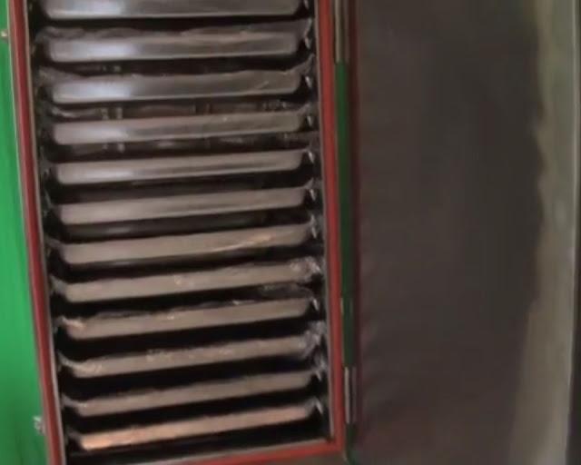 Tủ nấu cơm gas điện 12 khay tại Sài Gòn