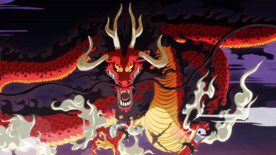 Kaido, Dragon, Form, One Piece, 4K, #6.22