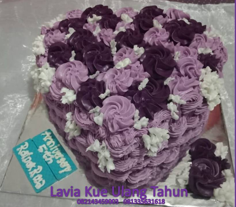 Kue Ulang Tahun Sidoarjo Surabaya Kue Tart Buttercream