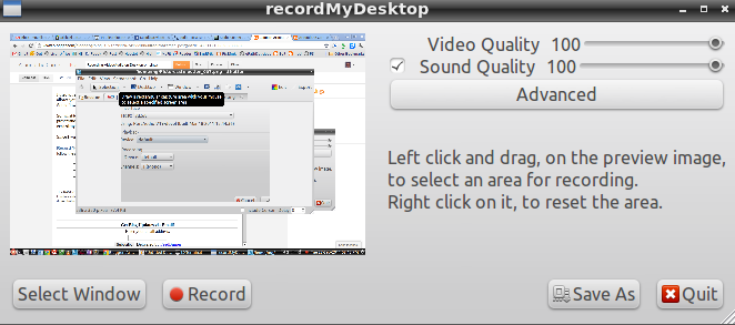 Recording Video/Audio on Desktop on Linux | Around the