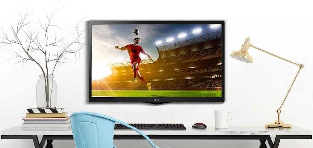 Monitor Televisi LED LG 24MT48AF 24 inch HD
