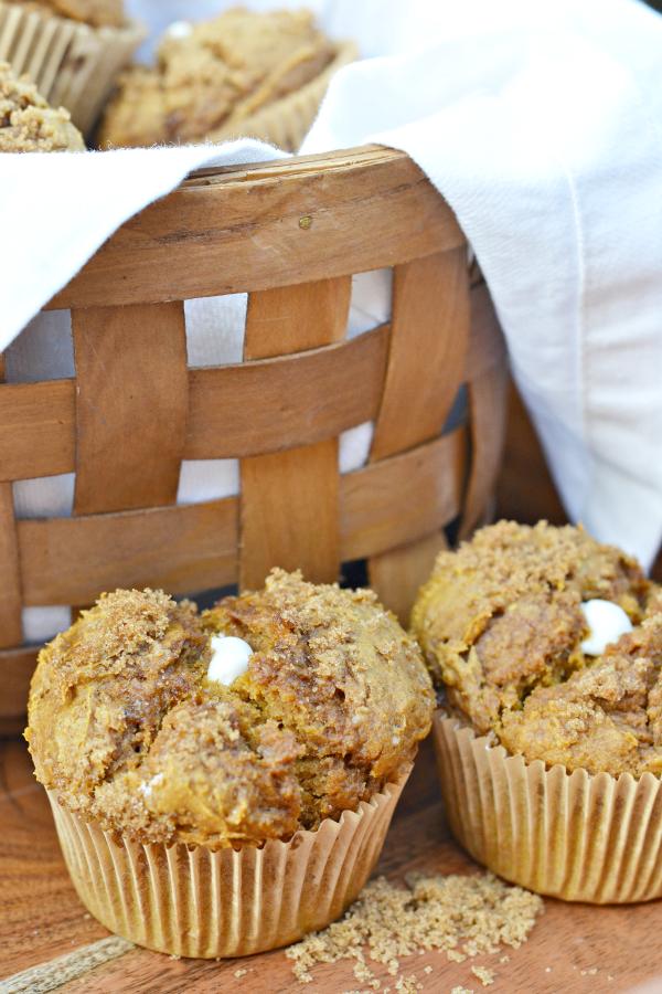 Pumpkin Puree Cake Mix Muffins