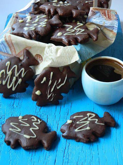 Fursecuri cu rom si ciocolata