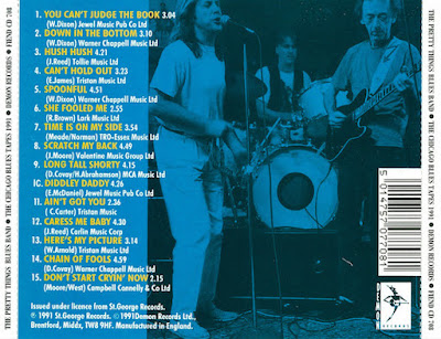 The Pretty Things / Yardbird Blues Band - The Chicago Blues Tapes 1991