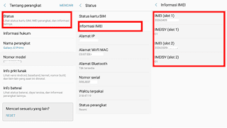 Cara Cek IMEI HP Android
