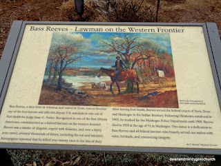 Bass Reeves plaque