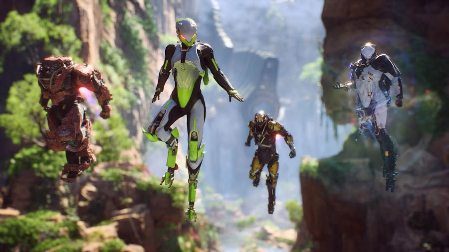 anthem story gameplay bioware 2018