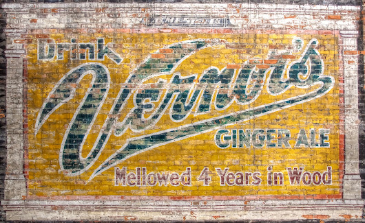 Old Vernor's Sign