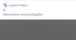 Cara Menghilangkan Penerusan Semua Panggilan pada Asus Zenfone Max Pro M1, Kartu Three, 3, Axis