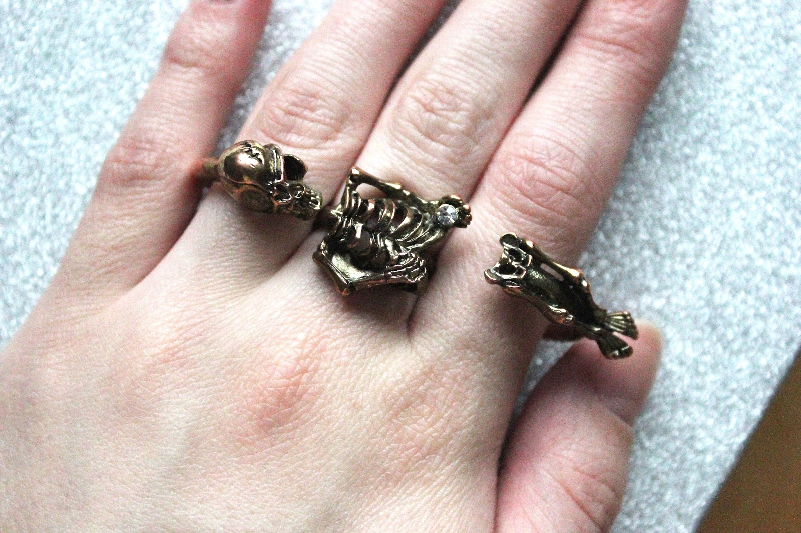 a top 5 round up of my favourite rings that I've been accessorising with over the winter months including from camden market