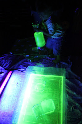 Non flammable 10g Luminous Party DIY Bright Glow in the