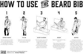 beard king bib. Black Bedroom Furniture Sets. Home Design Ideas