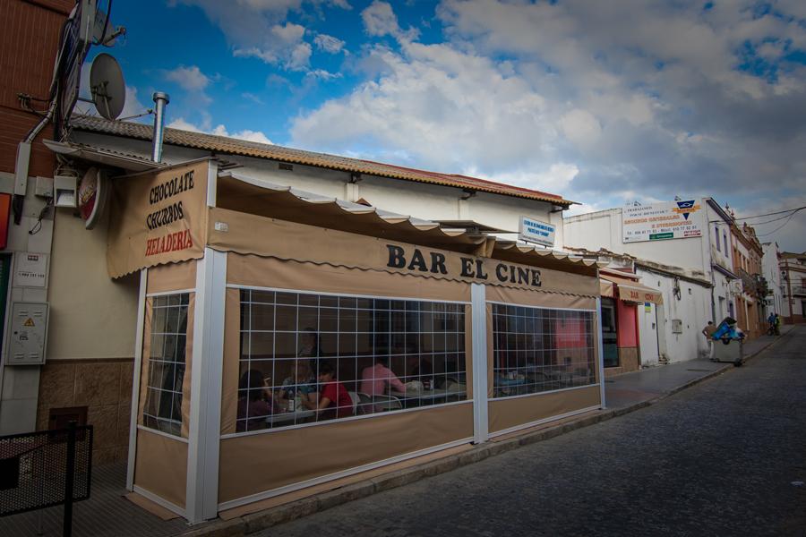 Caracoles en Bar El Cine