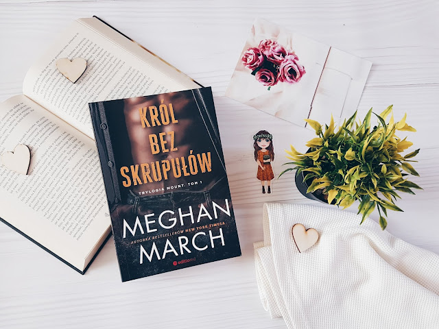 """Król bez skrupułów"" Meghan March"