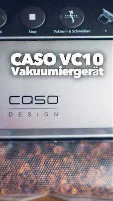Gear of the Week #GOTW KW 08 | CASO VC10 Vakuumierer | Vakuumiergerät | Lebensmittel vakuumieren | Trekkingnahrung haltbar machen