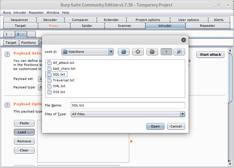 OWASP SQL Injection – Authentication bypass using BurpSuite - The