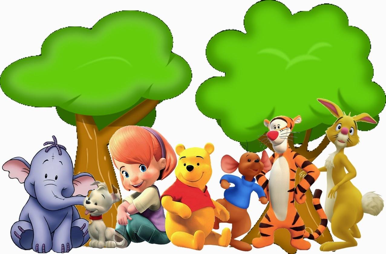 Winnie the Pooh: Imprimibles Gratis para Fiestas. | Oh My Bebé!