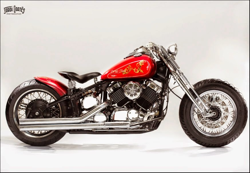for motorcycle fans custom yamaha dragstar 650 wild boar. Black Bedroom Furniture Sets. Home Design Ideas