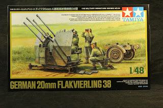 Tamiya 20 mm Flakvierling